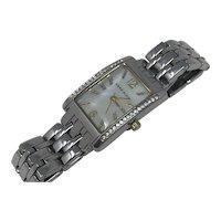 Anne Klein Ladies Watch with Rhinestones Wristwatch