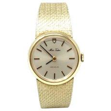 Vintage Rolex Miss Tudor ladies 14k watch