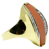 e38b09491 18k white gold diamonds Gucci double G monogram band ring : Galerie ...