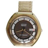 Rare Longines Olympian high frequency men's wristwatch