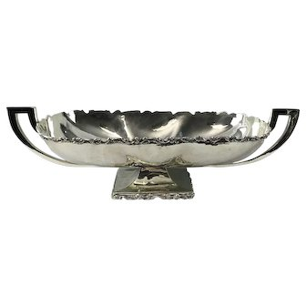Large Sterling Silver Centerpiece Mexico