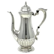 Manchester Silver co. sterling silver chocolate pot