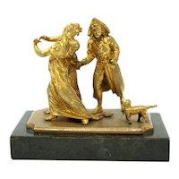 Bronze Ormolu Sculpture signed by Antonio Pandiani