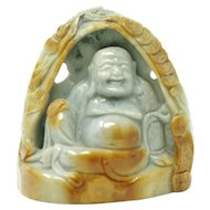Antique Chinese Jade Buddha Figurine