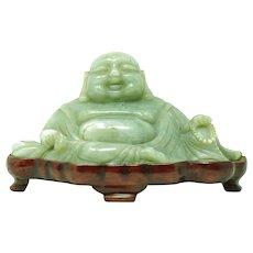 Chinese Jade Buddha Figurine