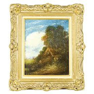 Alexander Nasmyth oil on canvas painting 17 inches x 15 inches