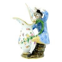 Meissen Man with Jug Figurine
