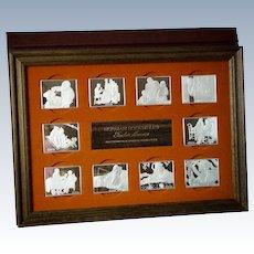 Norman Rockwell's Sterling Silver Fondest Memories Ingots