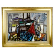 Domenico Agnello 1921-1988 Signed Painting