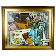 Italian painting by Domenico Agnello 1921-1988