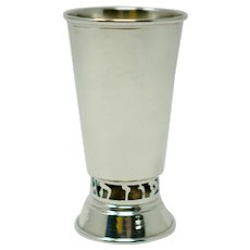 Sterling Silver gold wash Kiddush Cup