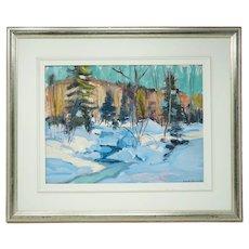 Canadian Betty Galbraith- Cornell 1916- 2012 Painting