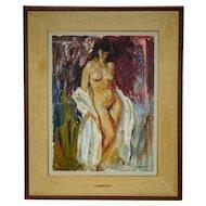 Henry John Simpkins Painting Standing Nude