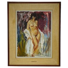 Henry John Simpkins Painting Standing Nude