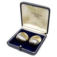 Walter Schluep Modernist Sterling Silver Earrings