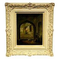 Aert Van Der Neer Painting of an Interior Scene