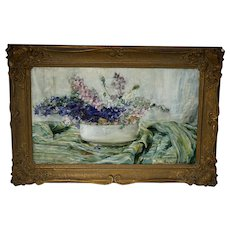 Hula Ajdukiewicz Painting Flower Still Life