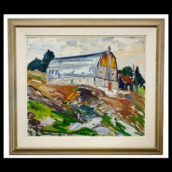 Rene Richard Painting Rang St. Jean Baptiste