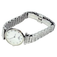 Longines Diamond & MOP Watch