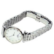 Longines Diamond & MOP Watch