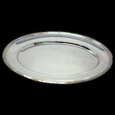 Christofle France Large Oval Platter