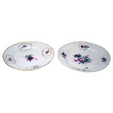 Meissen Floral Gilt Cabinet Plate