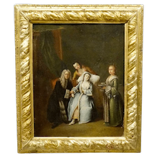 Attr. Pietro Longhi Old Master Painting
