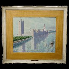 Walt Ruhman Painting Westminster Bridge