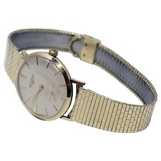 Vintage Longines 10k Men's Wristwatch