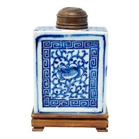 Chinese Late Qing Dynasty Tea Caddy