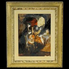 Jean Pierre Jouffroy Painting Musicians