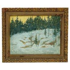 Saint Georges Burgoyne Painting