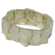 Modern Lapponia Sterling Silver Bracelet