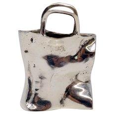 Vintage Olle Ohlsson Silver Purse