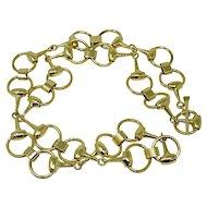 Vintage Gucci Chain Belt Necklace