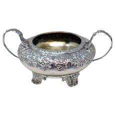 London 1786 Sterling Silver Sugar Bowl