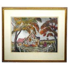 Romeo Vincelette Painting 1902-1979