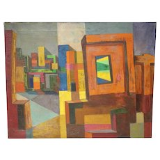 Edwy Francis Cooke 1926-2000 Painting