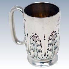 Birmingham 1902 Sterling Silver Mug