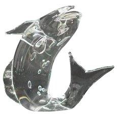 Licio Zanetti Murano Fish Sculpture