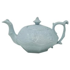 Antique Llanelly Prince Albert Teapot