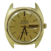 Omega Constellation Chronometer 18k Gold Watch