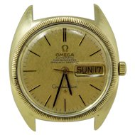 Omega Constellation Chronometer 18k Gold Watch