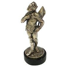 Emile Guillemin 1841-1907 Silvered Sculpture