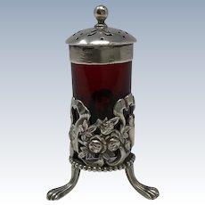 W.B. Durgin Sterling Silver Pepper Shaker