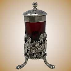 W.B. Durgin Sterling Silver Pepper Shaker