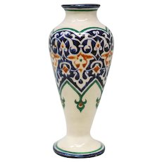 Turkish Ottoman Empire Pottery Vase
