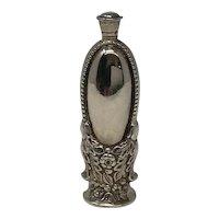 Antique Sterling Silver Scent Bottle