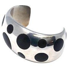 Taxco Sterling 925 Cuff Bracelet