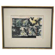 Fritz Brandtner Abstract Painting